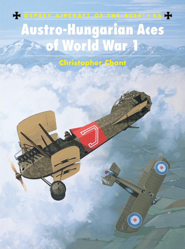 Austro Hungarian Aces of World War I als Taschenbuch