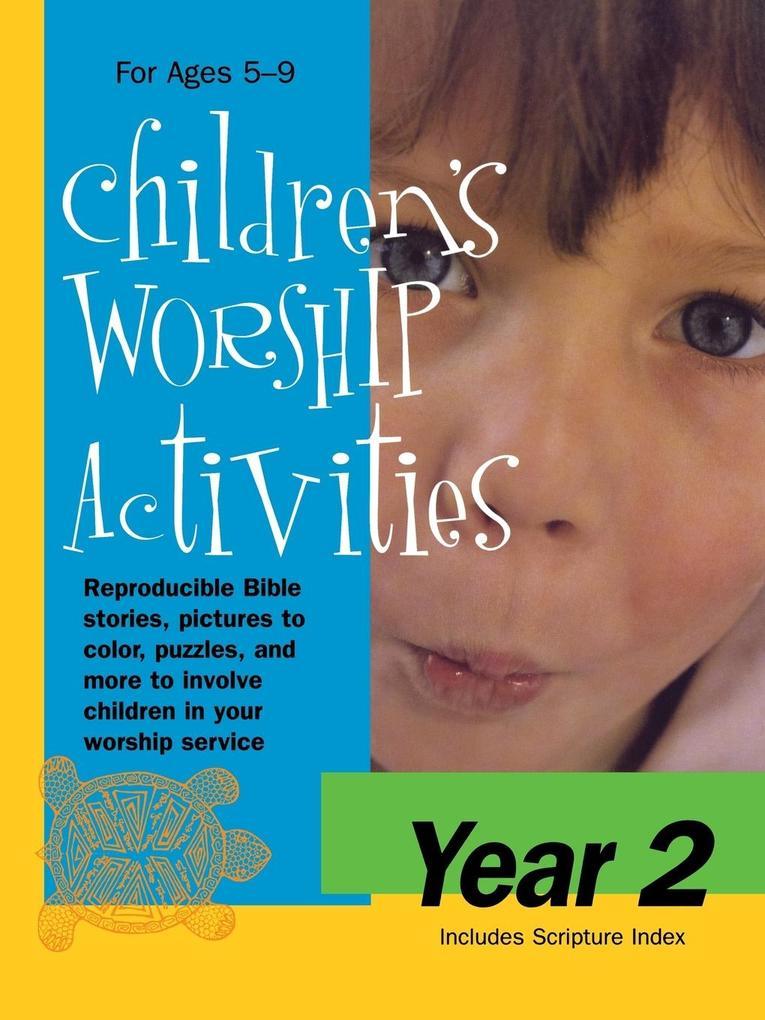 CHILDRENS WORSHIP ACTIVITIES Y als Taschenbuch