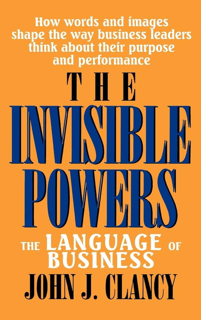 The Invisible Powers: The Language of Business als Buch