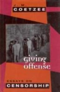 Giving Offense als Buch
