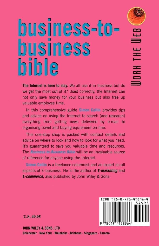 Work the Web, Business-To-Business Bible als Buch