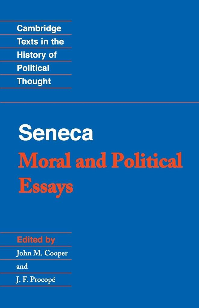 Seneca: Moral and Political Essays als Buch