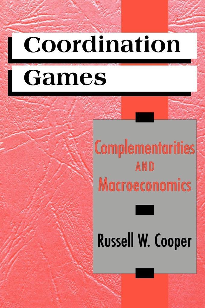 Coordination Games als Buch