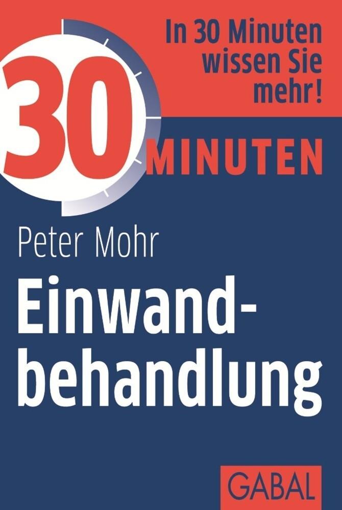 30 Minuten Einwandbehandlung als Buch