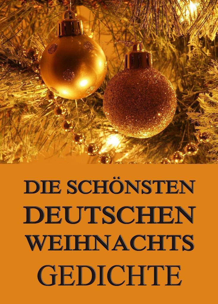 Die schönsten deutschen Weihnachtsgedichte als eBook
