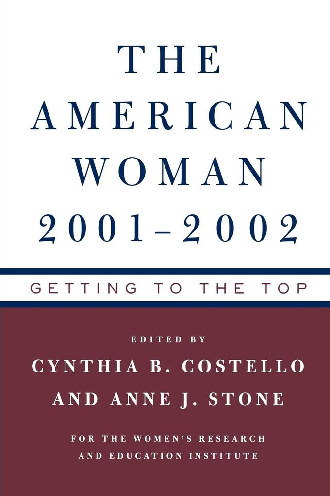 American Woman 2001-02: Getting to the Top als Taschenbuch