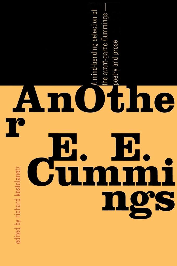 AnOther E. E. Cummings als Buch