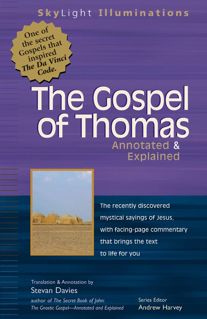 The Gospel of Thomas: Annotated & Explained als Taschenbuch