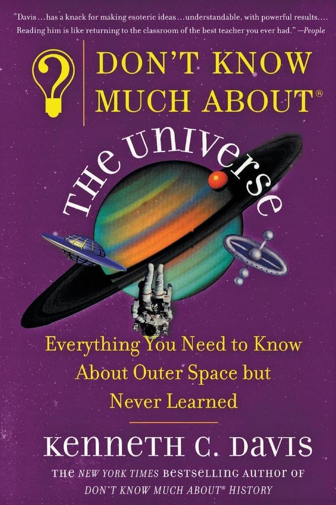 Don't Know Much About the Universe als Taschenbuch