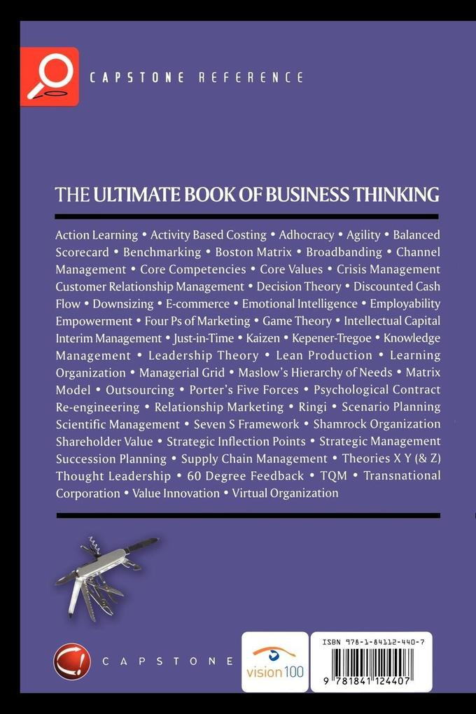 The Ultimate Book of Business Thinking als Buch