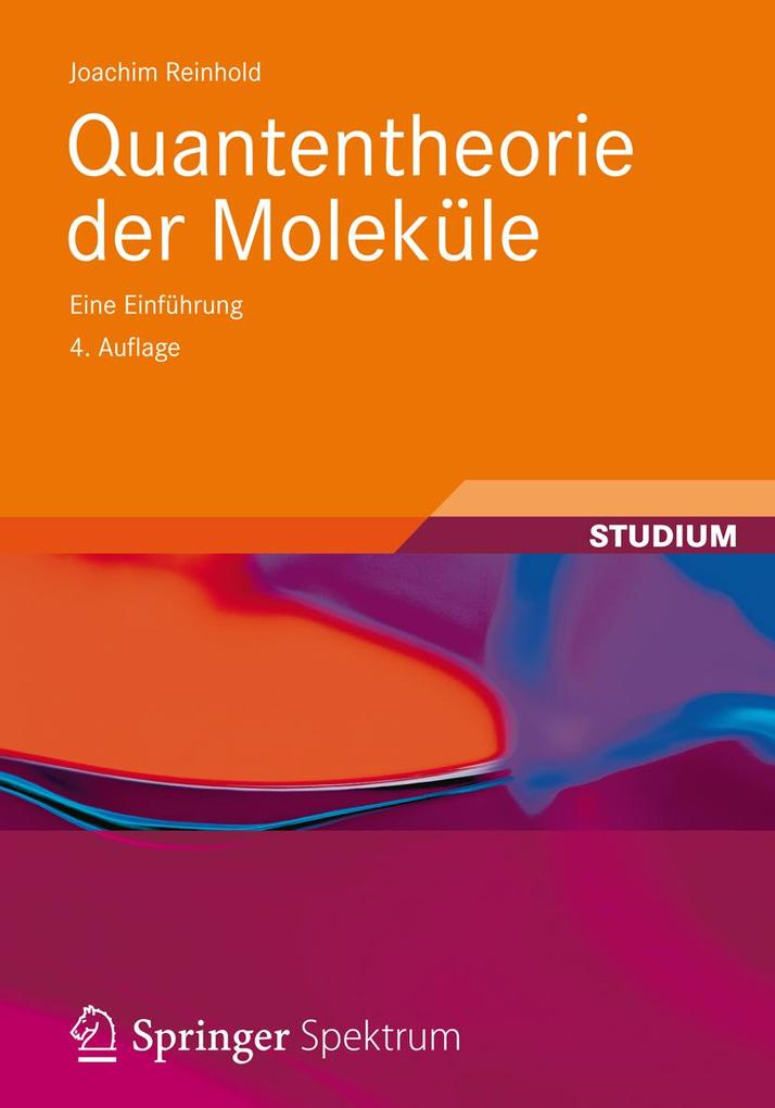 Quantentheorie der Moleküle als eBook