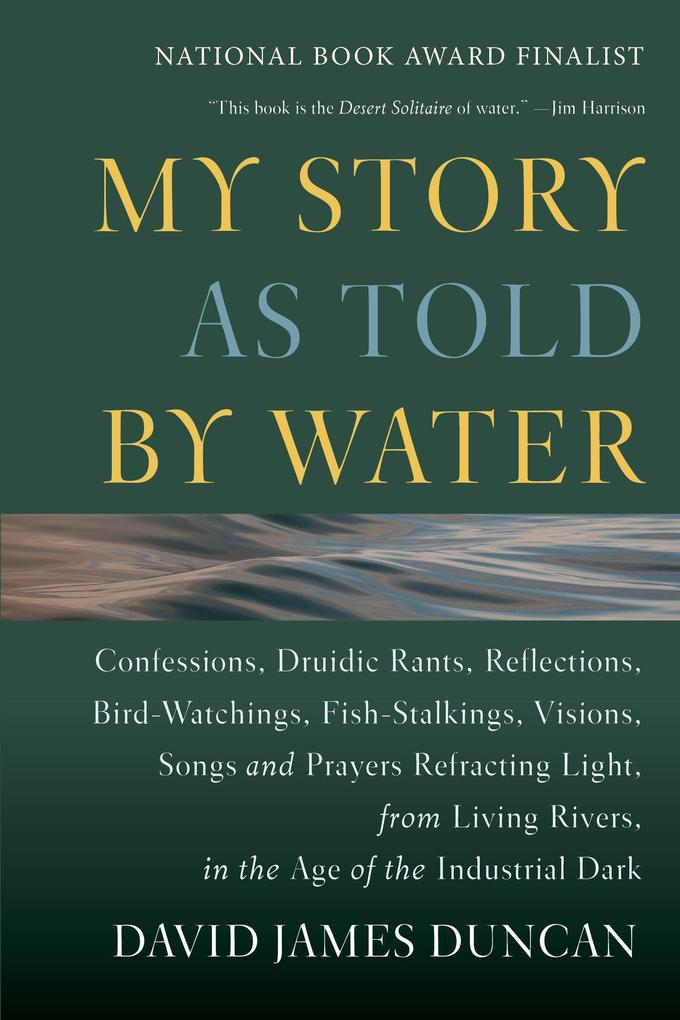 My Story as Told by Water: Confessions, Druidic Rants, Reflections, Bird-Watchings, Fish-Stalkings, Visions, Songs and Prayers Refracting Light, als Taschenbuch