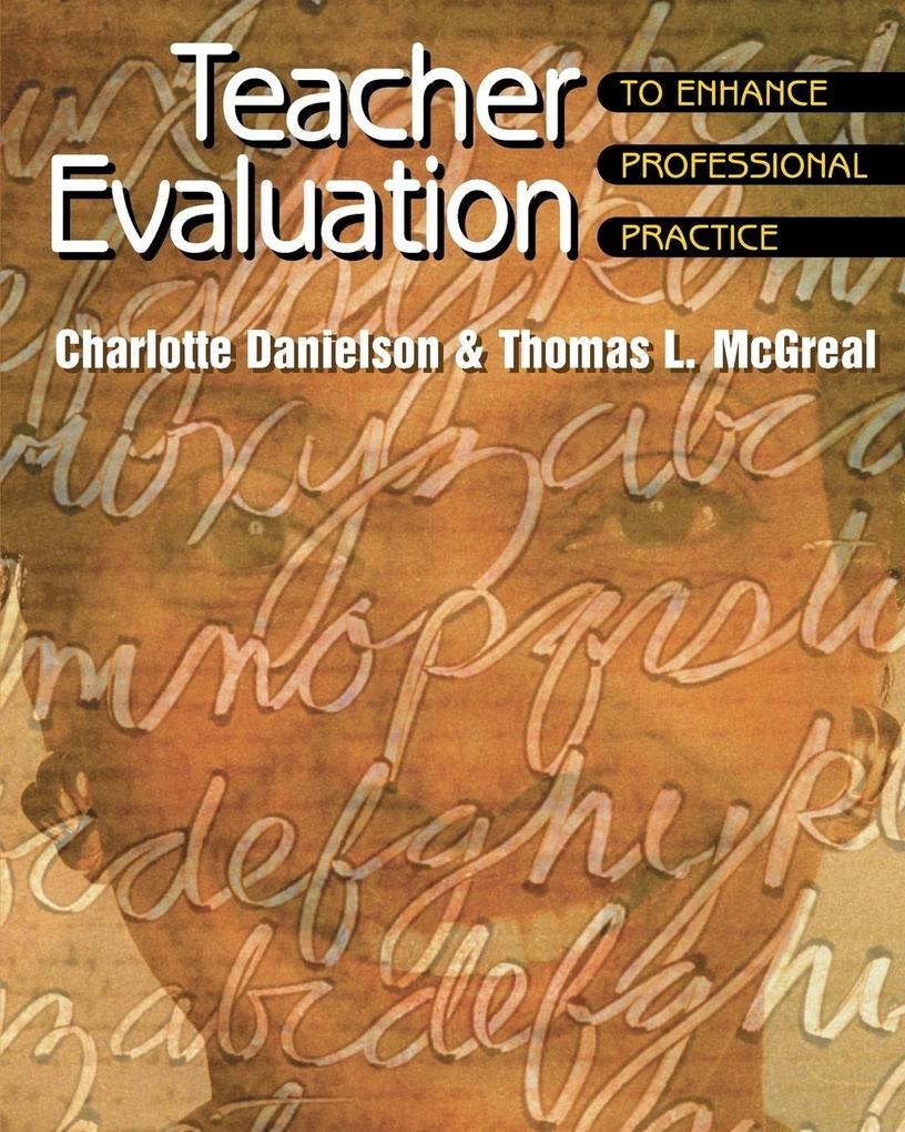 TEACHER EVALUATION TO ENHA als Taschenbuch