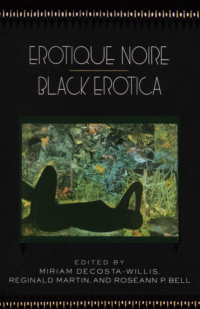 Erotique Noire/Black Erotica als Taschenbuch