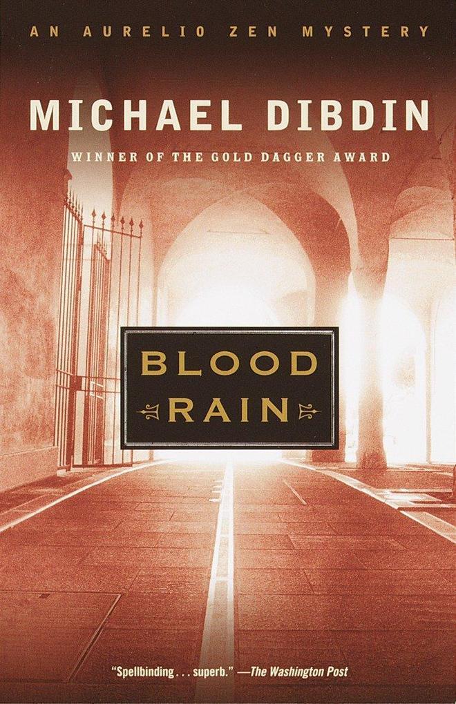 Blood Rain: An Aurelio Zen Mystery als Taschenbuch