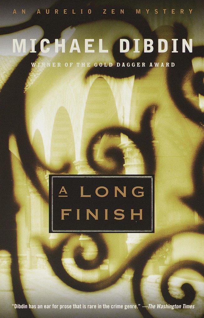A Long Finish: An Aurelio Zen Mystery als Taschenbuch