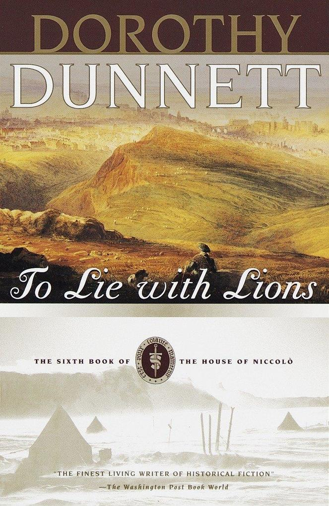 To Lie with Lions: The Sixth Book of the House of Niccolo als Taschenbuch