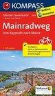 Mainradweg, Von Bayreuth nach Mainz 1 : 50 000