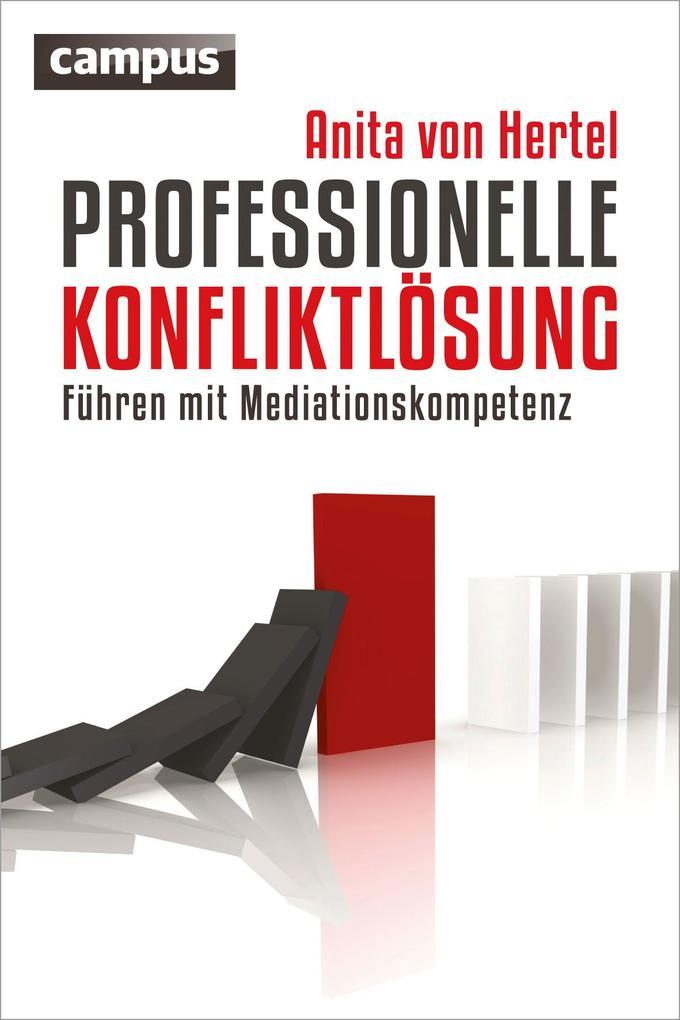 Professionelle Konfliktlösung als Buch