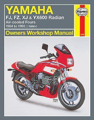 Yamaha Fj, Fz, Xj, & Yx600 Radian Owners Workshop Manual: Air-Cooled Fours 1984-1995 598cc als Taschenbuch