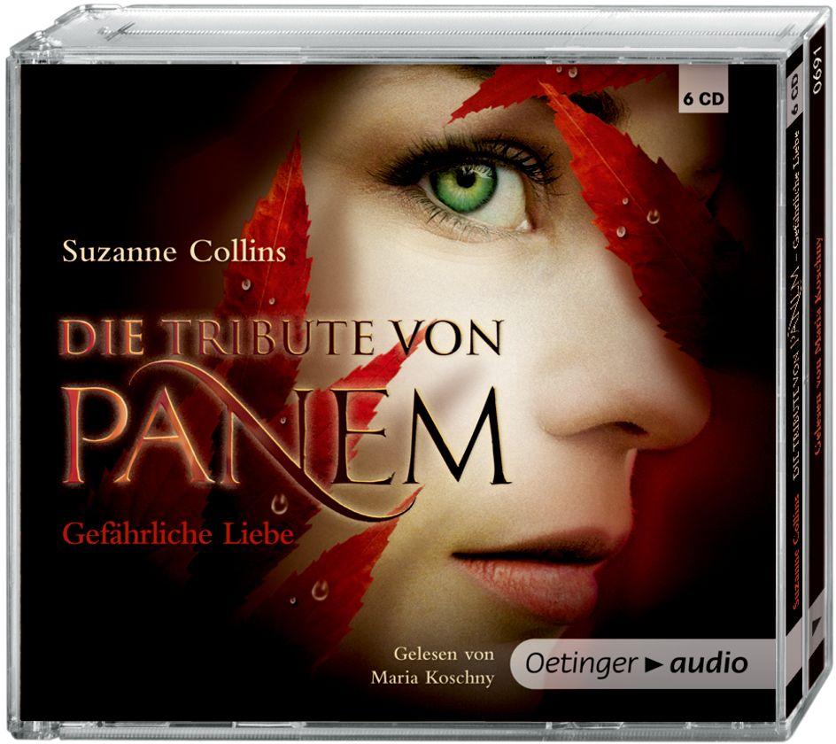 Die Tribute von Panem 2. Gefährliche Liebe als Hörbuch