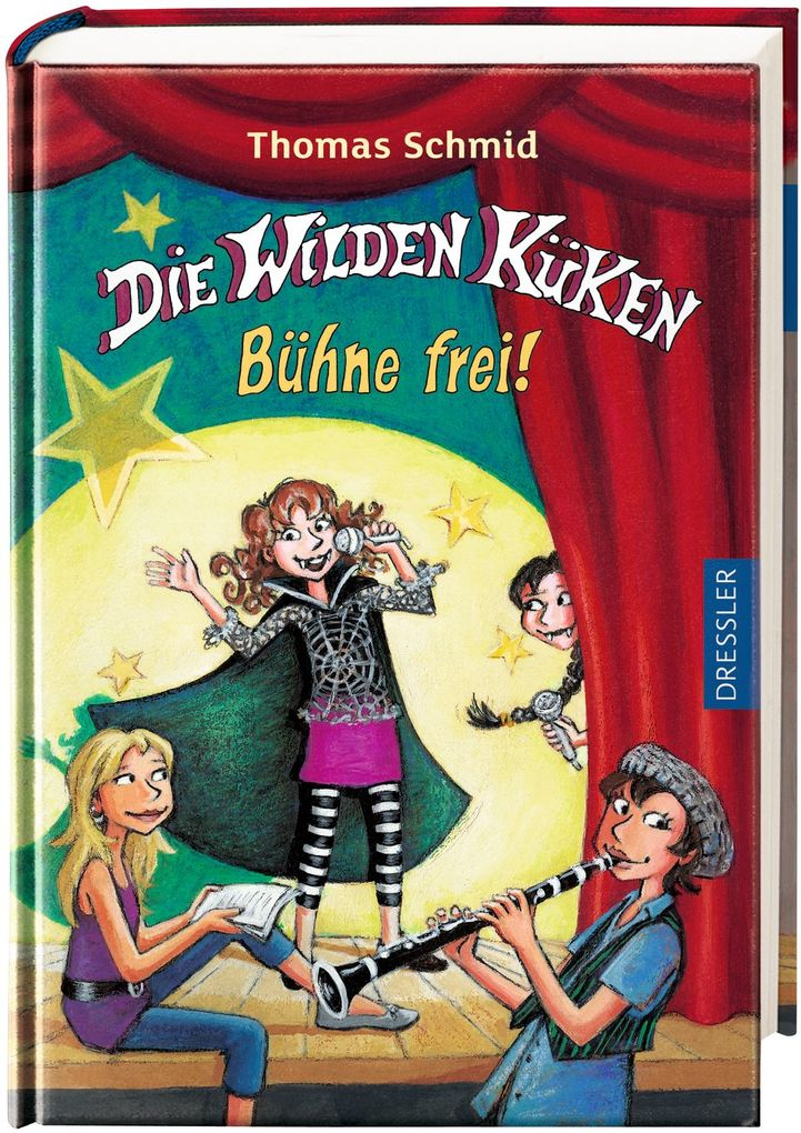 Die Wilden Küken - Bühne frei! als Buch von Thomas Schmid