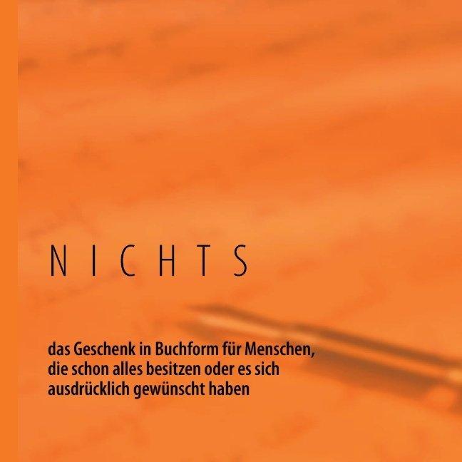 NICHTS als Buch von Michael Bergmann