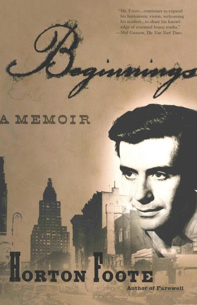 Beginnings: A Memoir als Taschenbuch