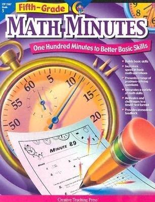 5th Grade Math Minutes als Taschenbuch