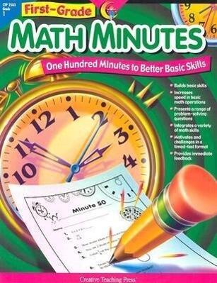 1st-Grade Math Minutes als Taschenbuch