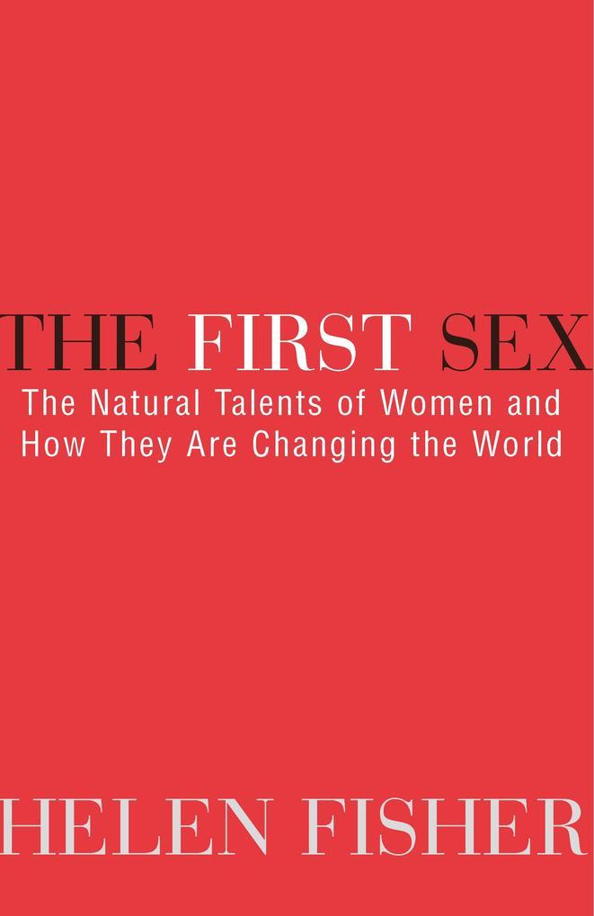 The First Sex als Taschenbuch