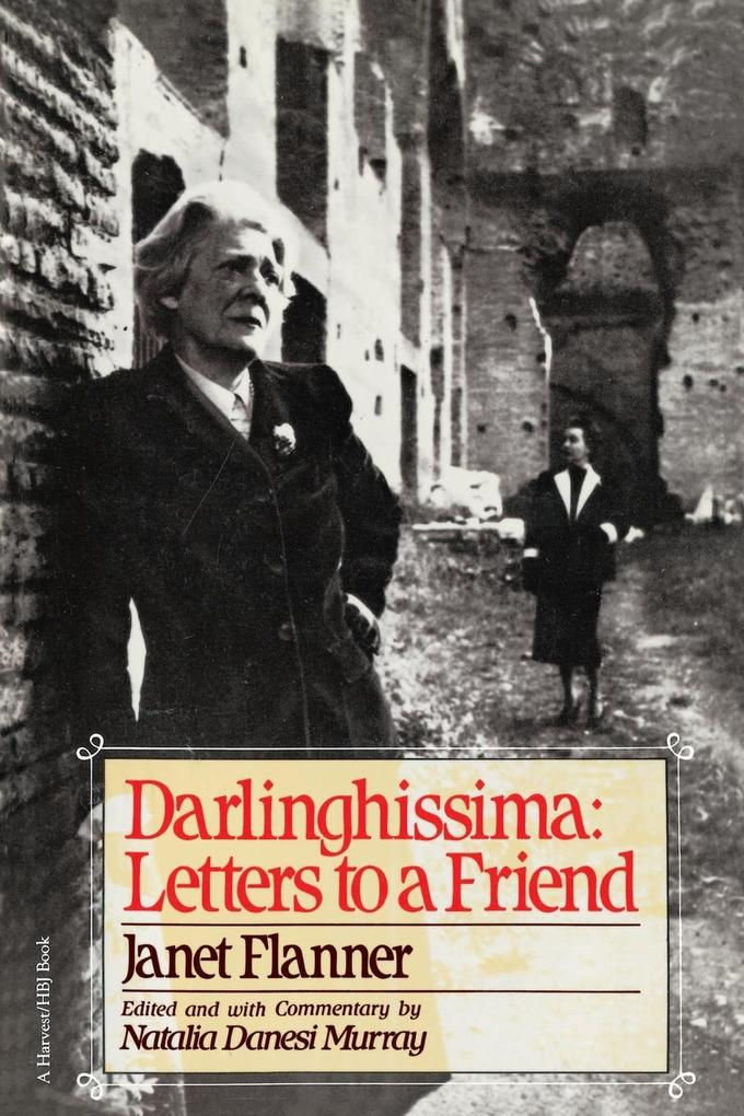 Darlinghissima: Letters to a Friend als Taschenbuch