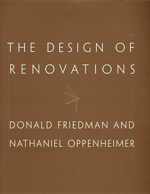 The Design of Renovations als Buch