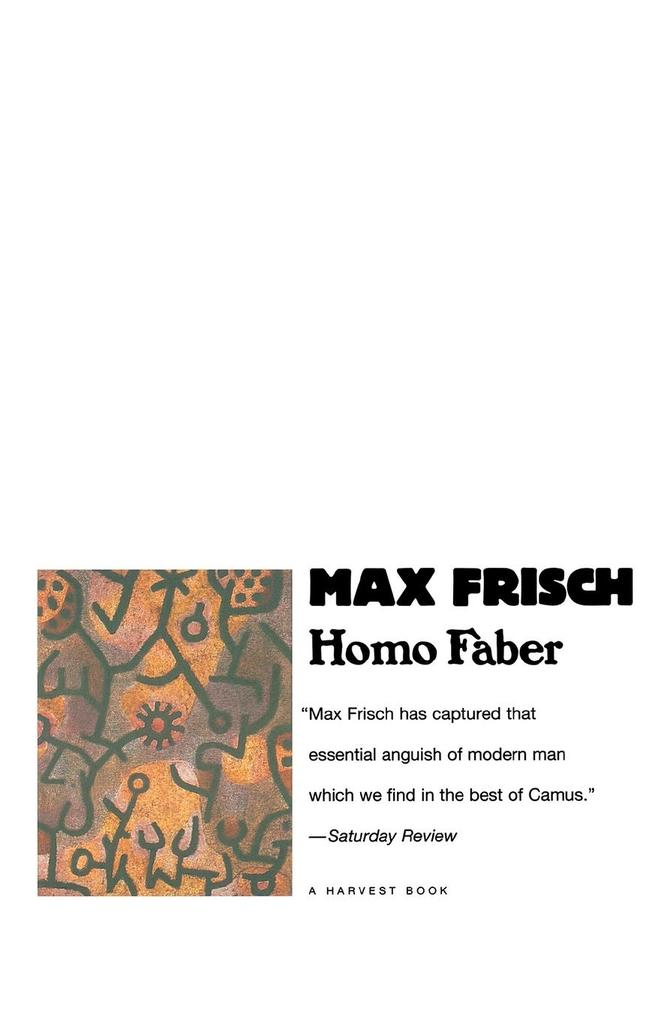 Homo Faber als Taschenbuch