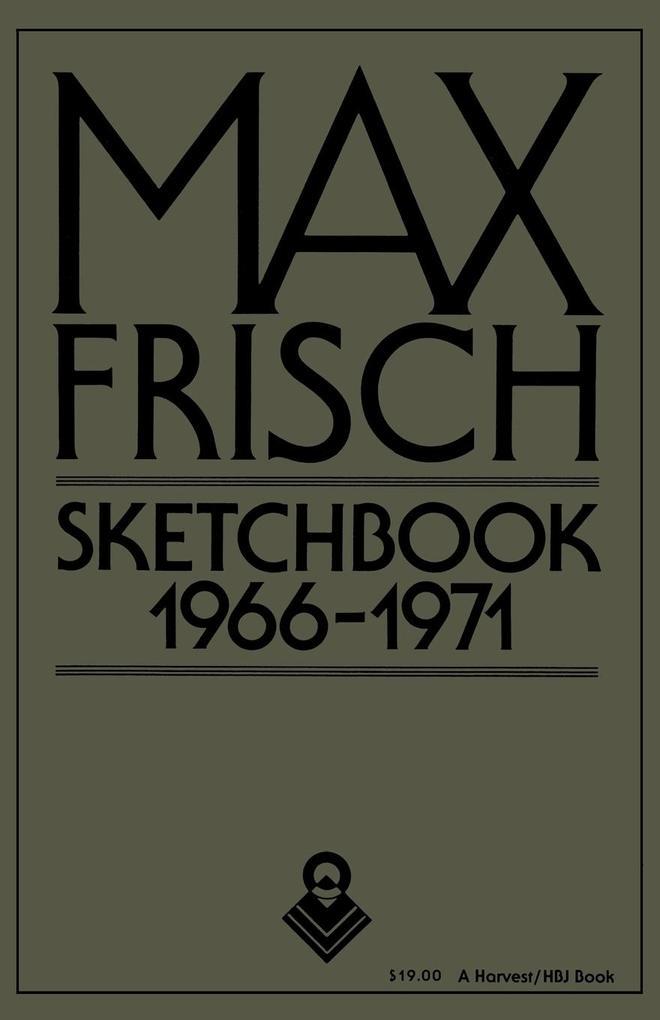Sketchbook 1966-1971 als Taschenbuch