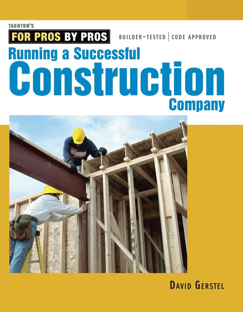 Running a Successful Construction Company als Taschenbuch
