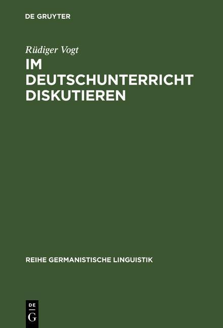 Im Deutschunterricht diskutieren als eBook