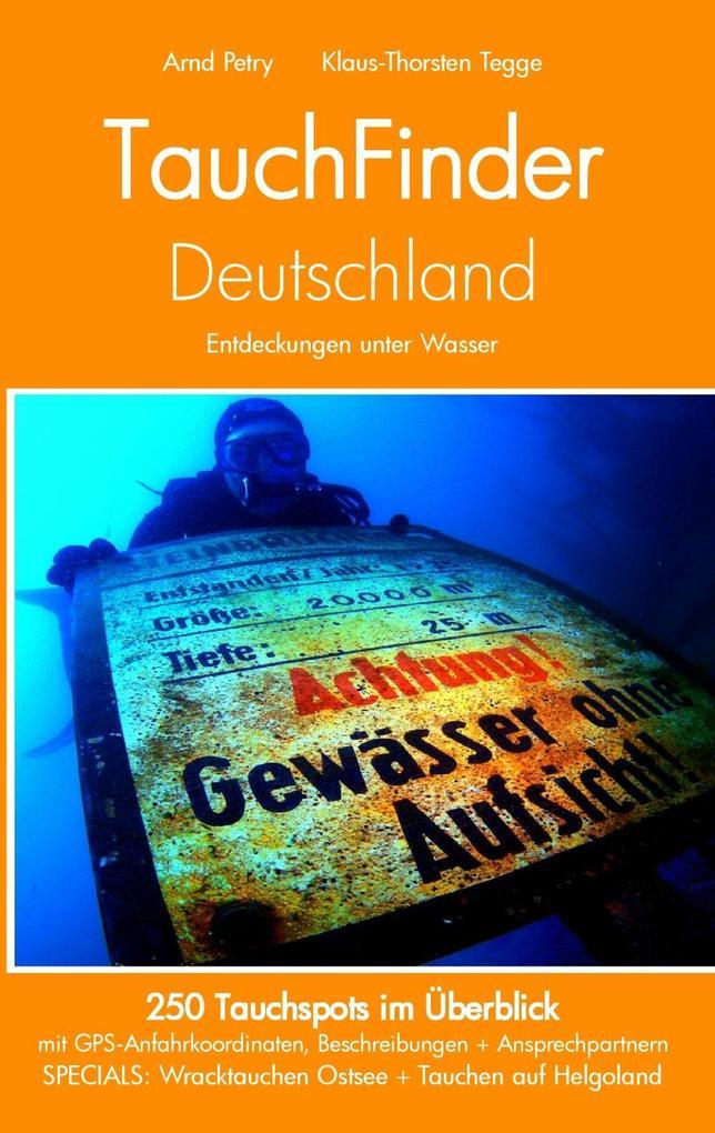TauchFinder Deutschland als eBook
