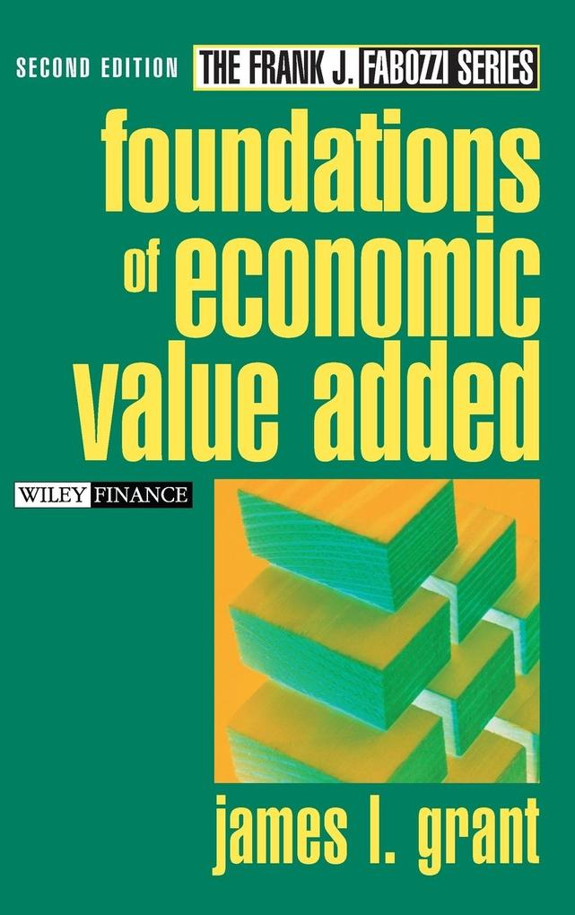 Foundations of Economic Value Added als Buch