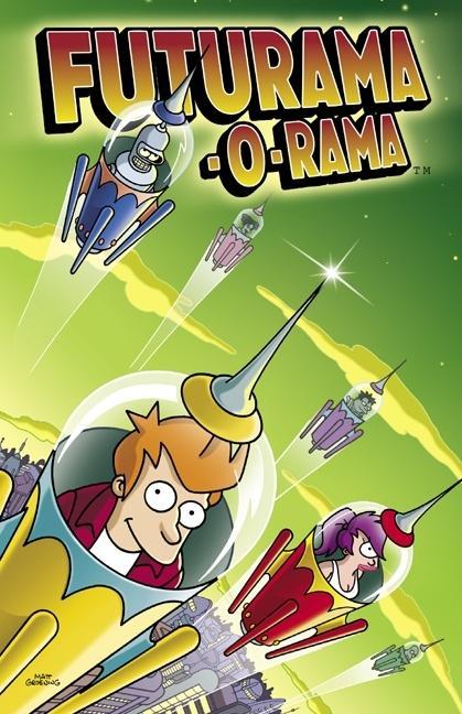 Futurama-O-Rama als Taschenbuch
