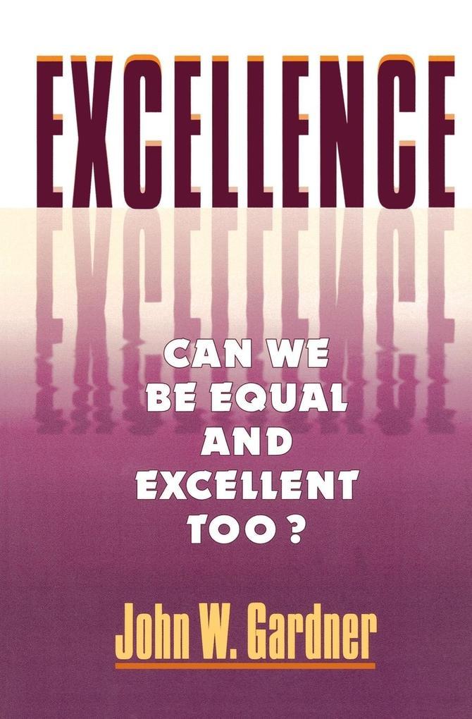 Excellence als Taschenbuch