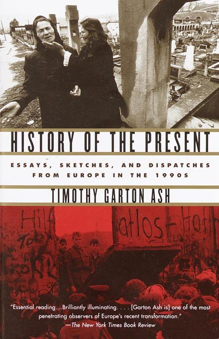 History of the Present: Essays, Sketches, and Dispatches from Europe in the 1990s als Taschenbuch