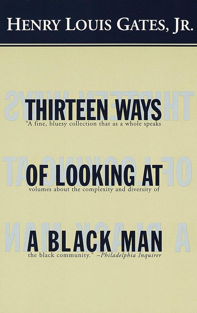 Thirteen Ways of Looking at a Black Man als Taschenbuch