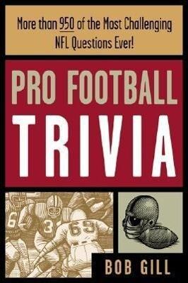 Pro Football Trivia als Taschenbuch