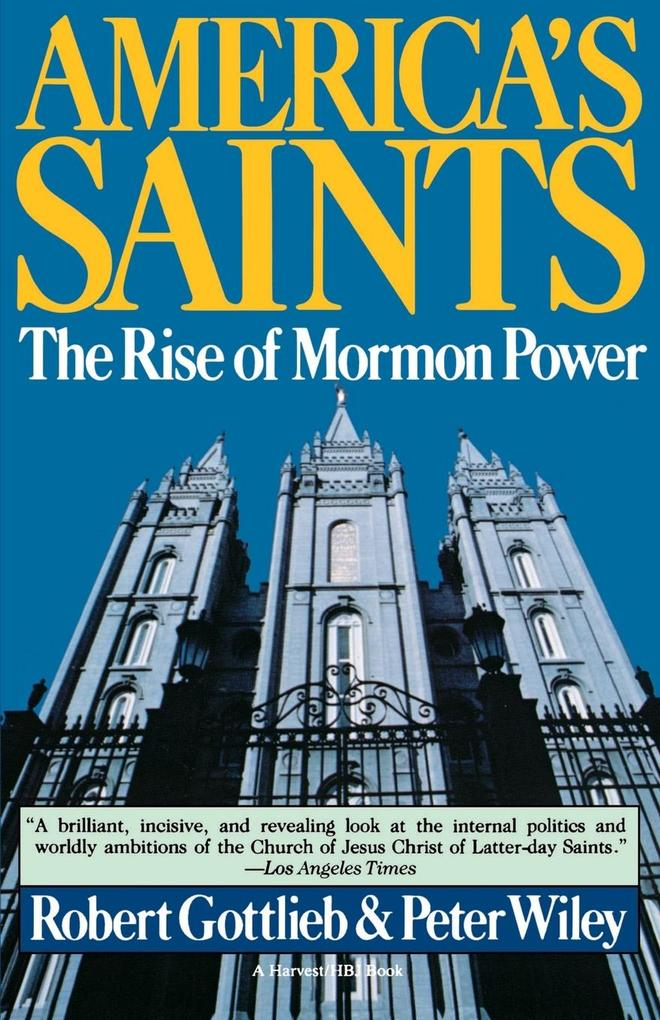America's Saints: Rise of Mormon Power als Taschenbuch