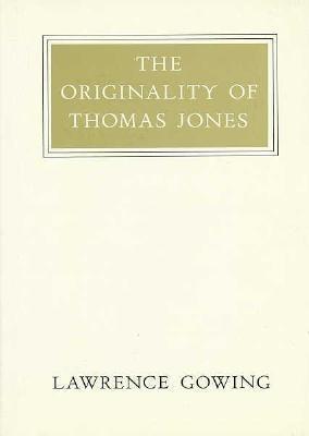 The Originality of Thomas Jones als Buch