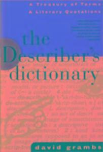 The Describer's Dictionary als Taschenbuch
