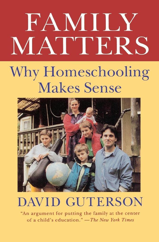Family Matters als Taschenbuch
