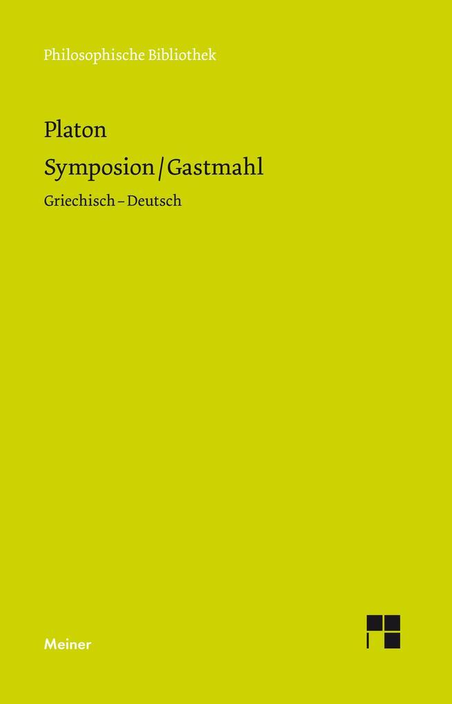 Symposion / Gastmahl als Buch