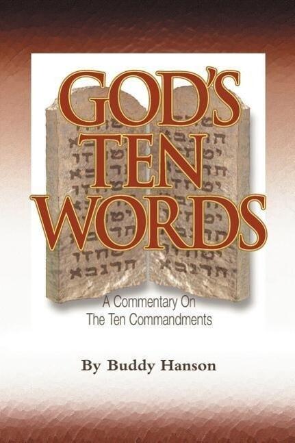 God's Ten Words als Taschenbuch